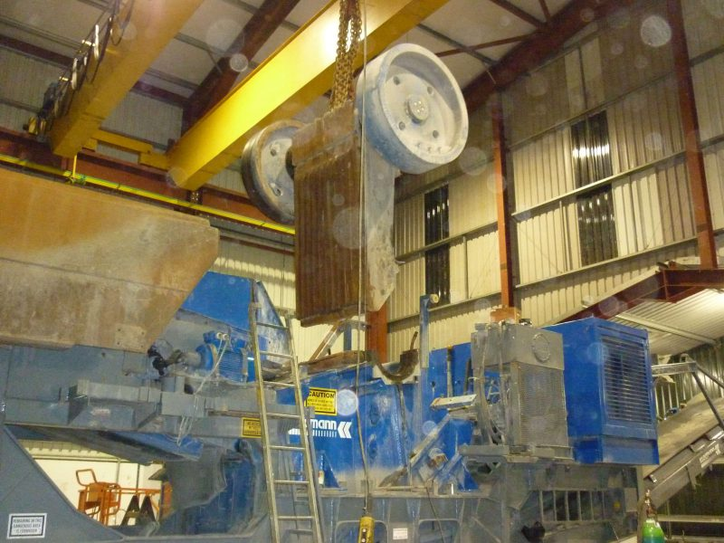 Woodstock Welding Line Boring Crusher