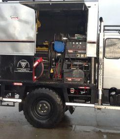 unimog welding rig